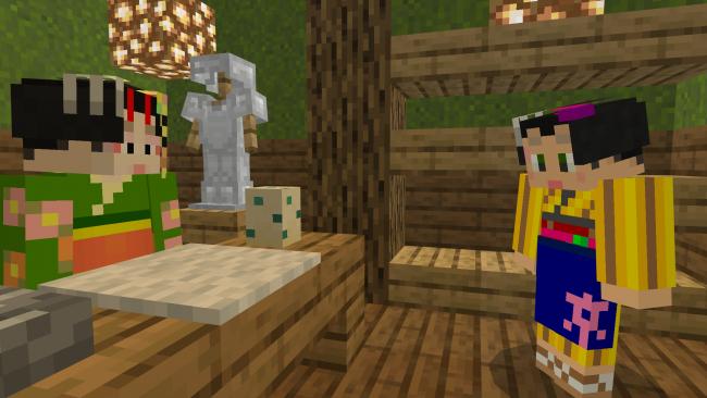 Minecraft『大和なでしこスキンパック』