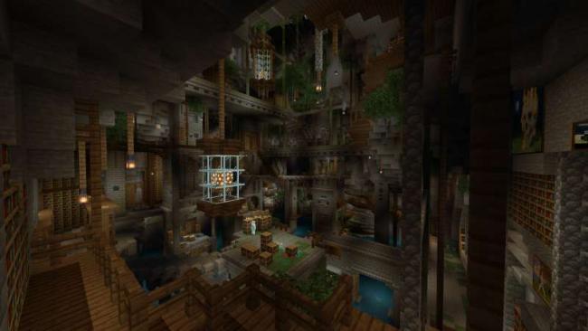 Minecraftゲーム内ストアに、巨大樹のある島『GIANT TREE』の出品を開始
