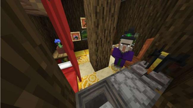 Minecraftゲーム内ストアに、巨木の家から地上へ脱出をテーマにした『家のなる巨木』を出品