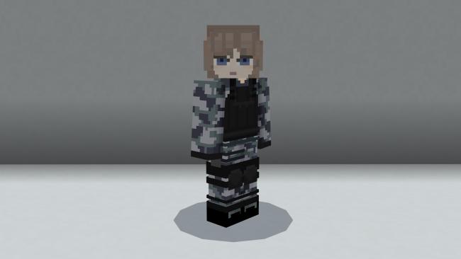 Minecraftゲーム内ストアに、9種類24体のスキンパックを収録した『特殊部隊HD』を出品