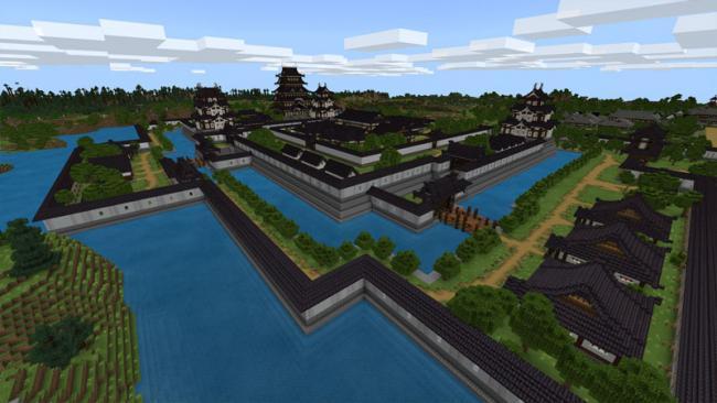 Minecraftゲーム内ストアに、日本の古き良き夏祭りを再現したワールド 『江戸の夏~盆踊り~』を出品