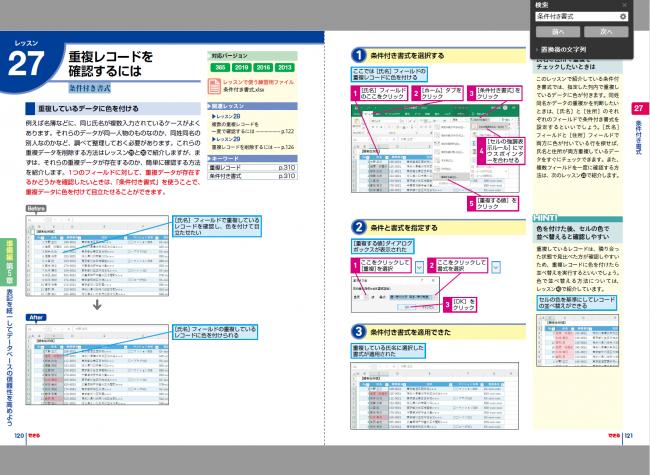 できるExcelデータベース 入力・整形・分析の効率アップに役立つ本