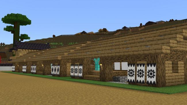 Minecraftゲーム内ストアに、難攻不落の山城を再現した作品『馬城』を出品