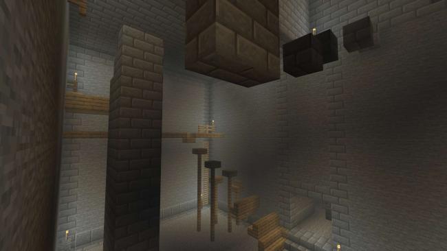Minecraft マーケットプレイスに、脱出アクションアドベンチャーワールド 『ダンジョン』を出品