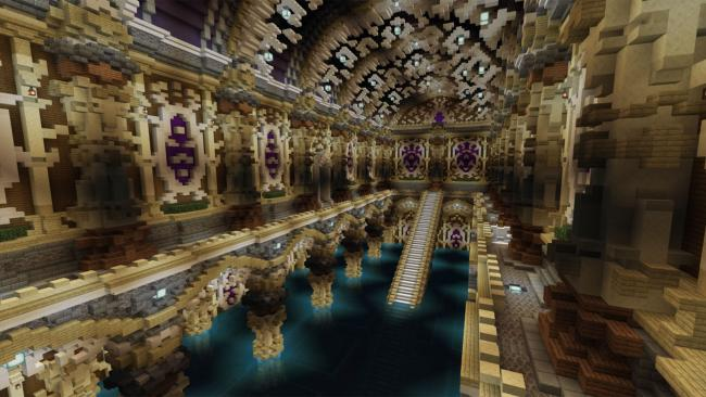 Minecraft マーケットプレイスに、重厚感のある城を攻略するワールド 『冒険者の旅』を出品