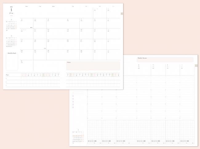 2022年版「インプレス手帳」全10種類を発売